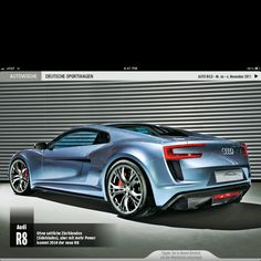 The planned Audi R8 redesign for 2014 looks amazing.