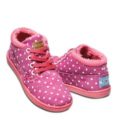 Look at this Magenta Dot Botas - Youth on #zulily today!