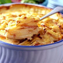 Aardappel au gratin weight watchers recept