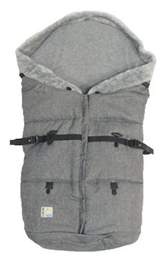 Stylish and universal footmuff (suitable for most pushchairs). Warm and cosy with two way (double) zipper – easy to put on and to take off the puschair. Adjustable lenght! Thick winter sleeping bag, insulated with a thick a polar of fleece. From the outside, waterproof fabric. It has cut... see more details at https://bestselleroutlets.com/baby/strollers-accessories/product-review-for-kutnik-universal-footmuffsleeping-bag-cocoon-polar-with-polar-fleece-grey-melange-with