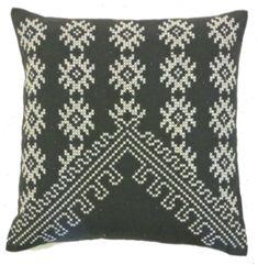 Jiti Bright and Fresh Fez Cotton Throw Pillow Color: Charcoal Modern Throw Pillows, Throw Pillow Sets, Outdoor Throw Pillows, Decorative Throw Pillows, Best Pillow, Perfect Pillow, Pillow Drawing, Cotton Velvet, Bright