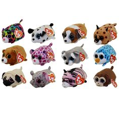 Current 165959  Ty Beanie Boos - Teeny Tys Stackable Plush - Set Of 12 ( d7f3c5b63804