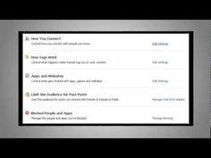 Privacy Tips for Facebook Timeline   Social Media Agency St. Louis