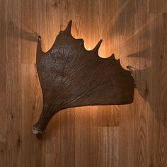 Large Moose Antler Sconce