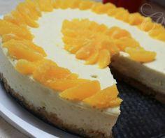 Cheesecake πορτοκάλι. Ένα γλύκισμα ιδανικό για επιδόρπιο μετά από ένα χορταστικό γεύμα ή δείπνο, ανάλαφρο και γευστικότατο που τρώγεται όλο το χρόνο αρκεί