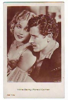 300 Best Vilma Banky Images Silent Film Ronald Colman Rudolph