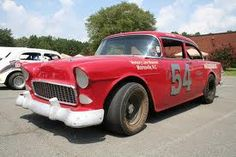 1955 chevy stock car