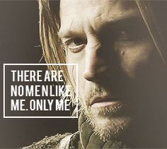 # 20 : A character that you  <3 but used to HATE!!!   Jamie Lannister