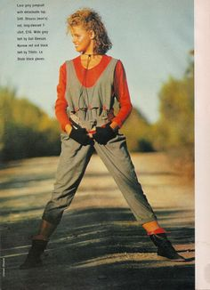 Best Fashion Look : Dolly March 1984 Tartan Fashion, Fashion Outfits, The Face Magazine, 80s Trends, 80s And 90s Fashion, Valley Girls, Vintage Fashion, Retro Fashion, Style Me