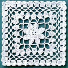 Risultati immagini per muestras o pastillas a crochet Granny Square Crochet Pattern, Crochet Blocks, Crochet Chart, Crochet Squares, Thread Crochet, Love Crochet, Crochet Motif, Beautiful Crochet, Crochet Designs