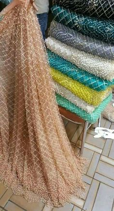 Pearl net shirt 👕 with iron lock technology Silk inner. Pakistani Formal Dresses, Pakistani Wedding Outfits, Indian Gowns Dresses, Pakistani Dress Design, Indian Outfits, Maxi Dresses, Kurta Designs, Blouse Designs, Dress Designs