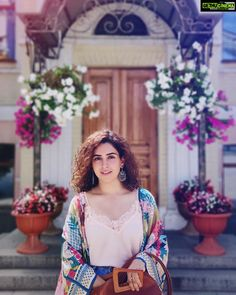 Image may contain: 1 person, standing and outdoor All Indian Actress, Indian Actress Gallery, Bollywood Celebrities, Bollywood Actress, Star Fashion, Indian Fashion, Sanya Malhotra, Indian Photoshoot, Beautiful Girl Indian