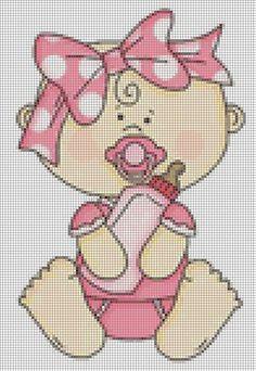 Baby x-stitch