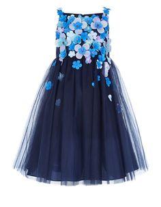 Bessey Dress | Navy | Monsoon