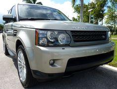 2011 Range Rover Sport in Ipanema Sand #LandRoverPalmBeach #LandRover #RangeRover http://www.landroverpalmbeach.com/