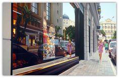 Morning in Monaco, Tom Blackwell photorealist