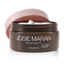 Pretty much my favorite hand/body lotion ever.  Vanilla Apricot Argan Whipped Body Butter - Josie Maran Cosmetics