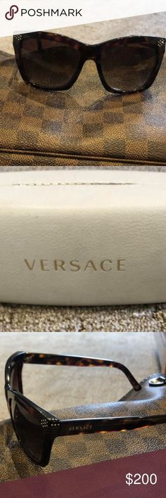 Sunglasses Versace sunglasses very good condition Comes with original case and ... Versace Sunglasses, Sunglasses Accessories, Sunglasses Case, Women Accessories, Conditioner, The Originals, Fashion Trends, Trendy Fashion