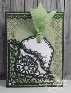 A Path of Paper: Inspired Stamps Birthday Card
