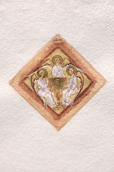 Holy Trinity (contemporary) by Elena Murariu