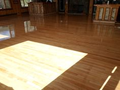 Maple floors at the lovely White Face Club in Lake Placid, NY. Sand and finish done by us, Superior Floors!