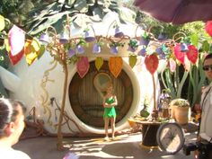 Disneyland pixie hollow | Re: Pixie Hollow Makeover