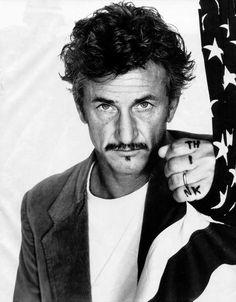 Sean Penn, US-amerikanischer Schauspieler, Regisseur und Drehbuchautor. Zweifach ausgezeichnet mit einem Oscar. Fotografie: Richard Avedon