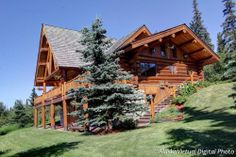 Great Alaskan Homes Blog: So You Want to Live in a Log Cabin...