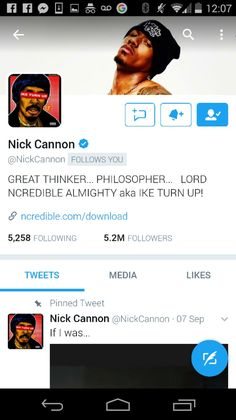 s/o to the legendary NICK CANNON