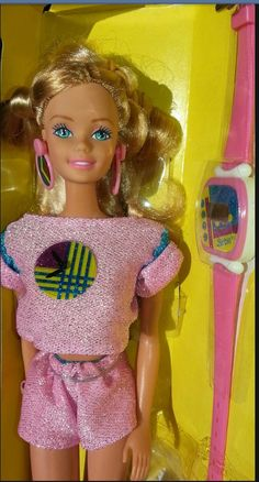 Totally 80s. Fun Time Barbie! Still have!