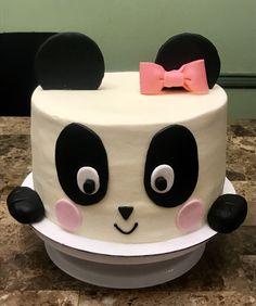 Cute Happy Birthday, Panda Birthday, Baby Birthday Cakes, Birthday Ideas, Panda Bear Cake, Panda Cakes, Bear Cakes, Beautiful Cake Pictures, Beautiful Cakes