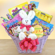 Send adorable easter basket full of all easter goodies to your easter typically marks the first official day of spring for me we get the girls all dressed up in their easter frocks with their matching easter baskets negle Gallery