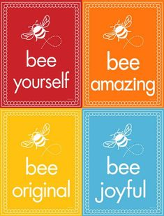 Bee Line Inspirations prints - buzzing with happiness Bee Quotes, Buzz Bee, I Love Bees, Spelling Bee, Bee Party, Bee Crafts, Marca Personal, Bee Theme, Save The Bees
