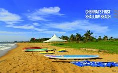 Chennai's first shallow beach