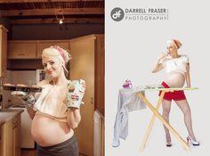 Ensaio Pinup Maternity | Coisas da My [ Cat: my fotos diversao  ]