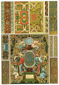French Renaissance Weaving Embroidery and Book Covers
