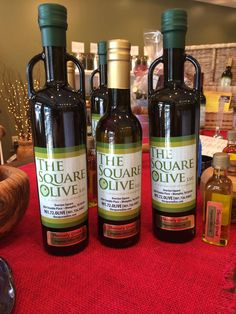 Just arrived at The Square Olive! Thessaly Greek Organic EVOO, directly from a grove in Thessaly Greece.