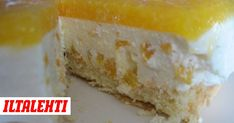 Healthy Baking, Let Them Eat Cake, Cheesecakes, Deli, Vanilla Cake, Goodies, Food And Drink, Cooking Recipes, Yummy Food