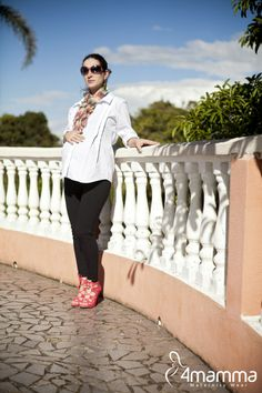 Legging cigarrete 4mamma  #modagestante #gestante #pregnant #pregnancy #gravida #gravidez #expecting #embarazada