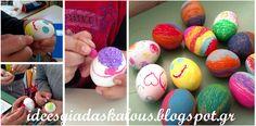 Ιδεες για δασκαλους: Πασχαλινά αυγά με μαρκαδόρους και λαδοπαστέλ Easter Eggs, Kai, Elegant, Decor, Classy, Decoration, Decorating, Chic, Deco