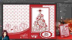 Tutorial Photoshop: Tarjeta de Felicitacion Navidadeña