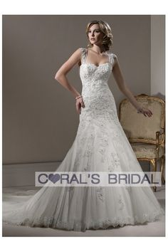 WD11217(Beatrice) Fitted A-line wedding dress bridal gown