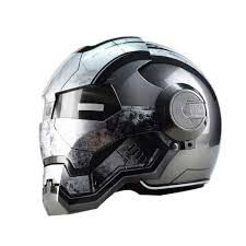 "HOT PRICES FROM ALI - Buy ""Masei War Machine Gray Mens womens IRONMAN Iron Man helmet motorcycle helmet half helmet open face helmet ABS casque motocross"" from category ""Automobiles & Motorcycles"" for only 189 USD. Iron Man Helmet Motorcycle, Biker Helmets, Half Helmets, Motocross Helmets, Open Face Helmets, Dot Approved Motorcycle Helmets, Motorcycle Parts, Star Troopers, Top Abs"