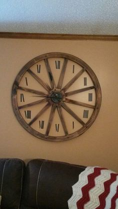 132 Best Diy Wall Clock S Images