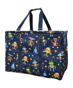 Animal Themed Prints NGIL Mega Shopping Utility Tote Bag
