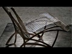 Contemporary Cow Chair | Interior Furniture Design - Metal Chair - YouTube