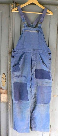 French workwear 40s dungarees