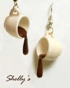 Coffee Earrings?  Of course!