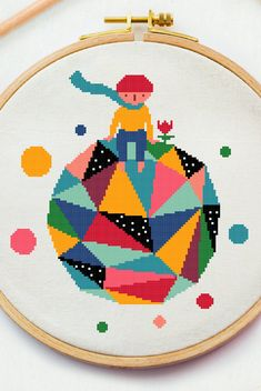 Excited to share this item from my #etsy shop: The little prince cross stitch pattern Planet x stitch pdf instant file Polygon Modern cross stitch Baby Room needlepoint #crossstitchpattern #easycrossstitchpattern #moderncrossstitchpattern #crossstitchpatternforbeginner #simplecrossstitchpattern #freecrossstitchpattern #modernembroideryscheme #crossstitchscheme #crossstitchchart #crossstitchtext #crossstitchquote #princecrossstitch #planetcrossstitch #babyroomwallart #babycrossstitch… Baby Cross Stitch Patterns, Cross Stitch Baby, Baby Room Wall Art, Cross Stitch Quotes, The Little Prince, Modern Kids, Modern Embroidery, Embroidery For Beginners, Needlepoint