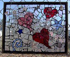 Three hearts by lumallouf, via Flickrhttp://mosaicartsource.wordpress.com/2008/02/14/mosaic-heart-mosaic-art-sculpture-happy-valentines-day/